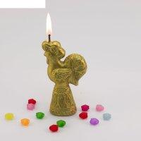 Свеча золотой петушок 16169