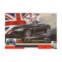 Блокнот д/эскизов а4 12л стильное черное авто, офсет 12-8706