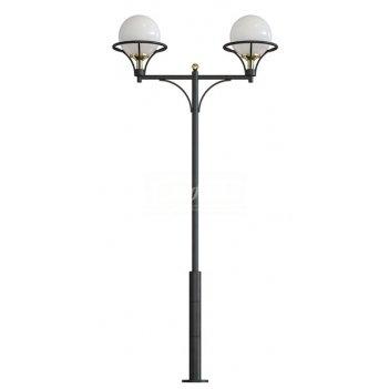 Стальной фонарный столб т-07-2 со светильниками 3,415 м