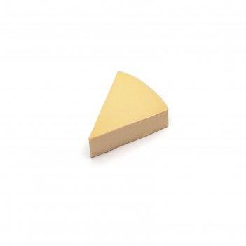 Спонж для макияжа tnl, треугольный широкий, цвет бежевый