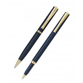 Набор: ручка шариковая + роллер pierre cardin pen and pen, к
