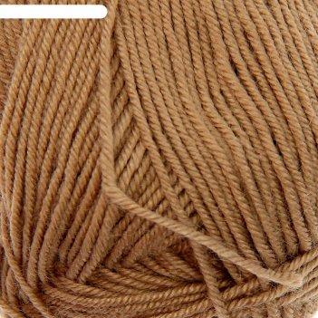 Пряжа рукодельная 100% акрил 175м/50гр  (274-серобежевый)