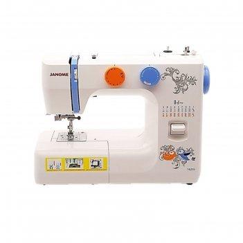 Швейная машина janome 1620s, 18 операций, электромеханическое управление,