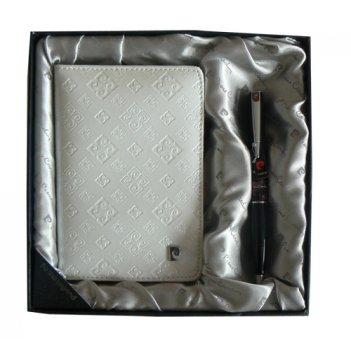 Набор: обложка для паспорта и ручка.  ручка шариковая, латун
