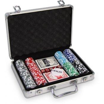 (200) набор для покера на 200 фишек royal flush