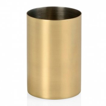 Andrea house стакан для зубных щеток golden matte