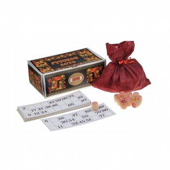 Русское лото (черная картонная коробка)