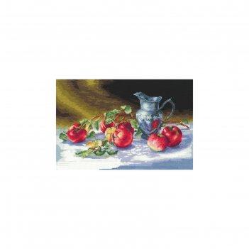 Набор для вышивания сочные яблоки