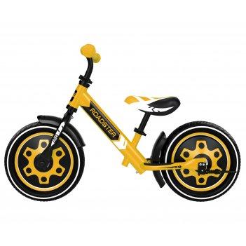 Детский алюминиевый беговел small rider roadster 3 (classic air)  (желтый)
