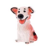 Статуэтка собака джек, рыжая
