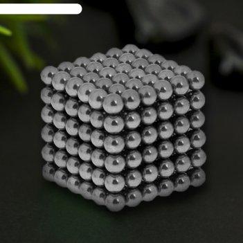 Неокуб черное серебро, 216 шариков d=0,5 см