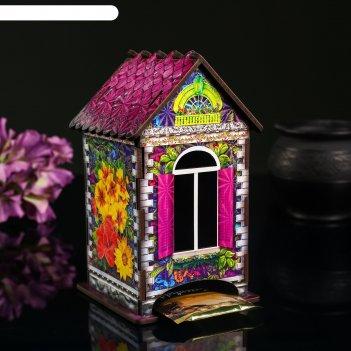 Чайный домик домик с цветами