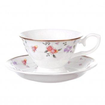 Набор чайных пар на 6 персон 12 предметов алиса