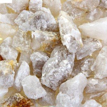 Грунт для аквариума белый кварц, фракция 10-15мм., 1кг.