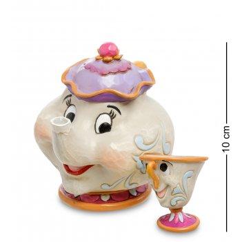 Disney-4049622 фигурка миссис поттс и чип (материнская любовь)