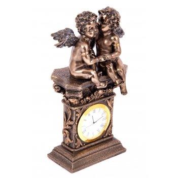 Часы настольные ангелочки 11*7*20см