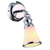 Спот время, 1 лампа, хром