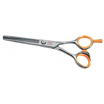 Парикмахерские ножницы tayo orange филировочные (40 зубцов) 5,5