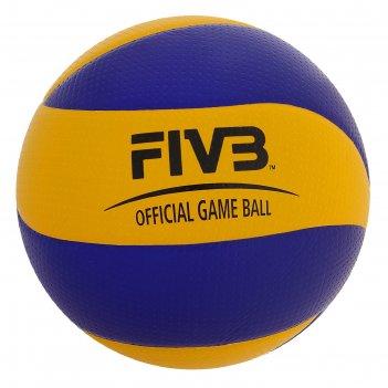 Мяч волейбольный mikasa mva200, р. 5, сине-желтый
