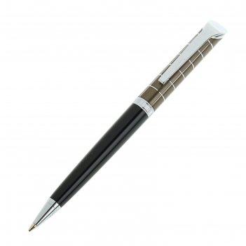 Ручка шариковая pierre cardin gamme, акрил, хром, стержень синий (pc0873bp