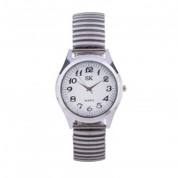 Часы наручные женские, браслет резинка