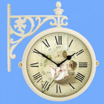Настенные часы на подвесе b&s m195-iv-f9