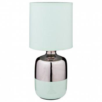 Светильник с абажуром высота=32 см. диаметр=16 см.