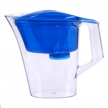 Фильтр-кувшин 2,5 л барьер-нова, цвет синий