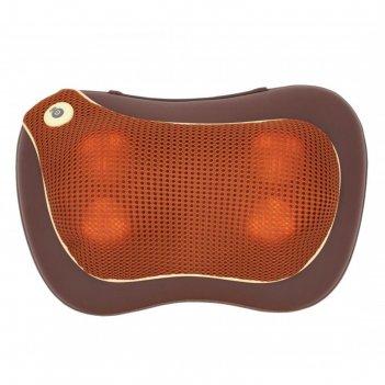 Массажная подушка для шеи с акупунктурной накидкой gess-131 utenon, 24 вт,