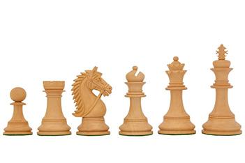 Шахматные фигуры ручной работы честерфильд из самшита, 11см
