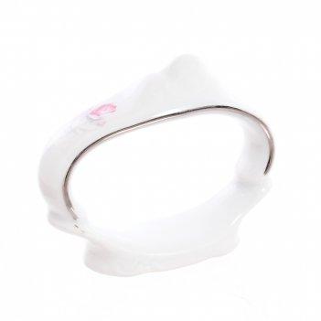 Кольцо для салфеток bernadotte серая роза платина 6,5 см