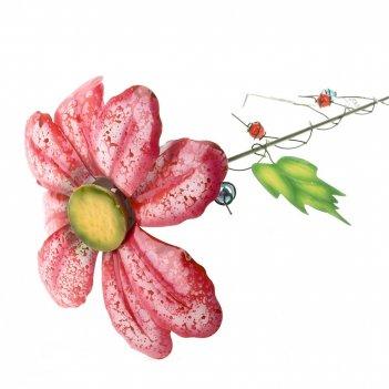 Фигурка декоративная (штекер садовый) цветочная поляна h=80см.
