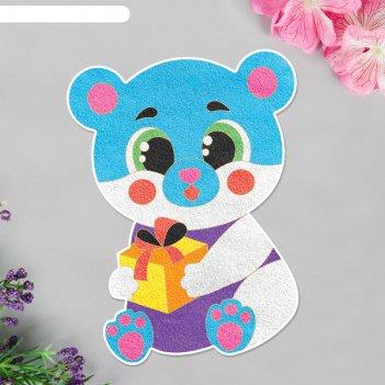 Фреска форменная подарок для тебя! мишка