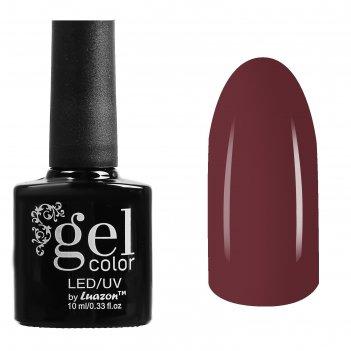 Гель-лак для ногтей трёхфазный led/uv, 10мл, цвет в1-072 коричневый