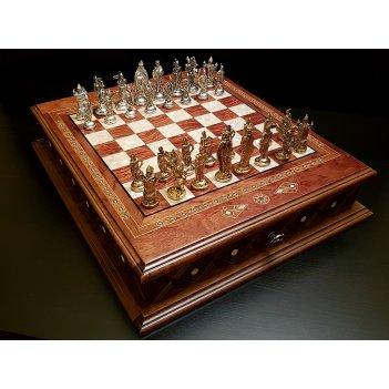 Шахматы подарочные аристократ роза антик