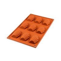Форма для приготовления пирожных madeleine, размер: 68 х 45 см, материал: