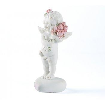 Фигурка декоративная ангелочек 5*4*10см
