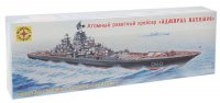 Набор сборной модели - корабль атомный ракетный крейсер адмирал нахимов (1