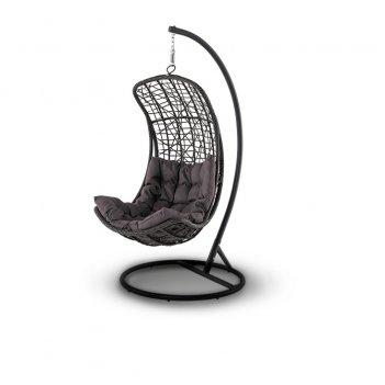 Подвесное кресло 4sis виши коричневое, садовая мебель