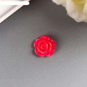 Кабошон роза, микс 12 мм