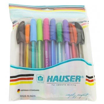 Набор: шариковая ручка (10шт/уп) hauser h6058-t-set