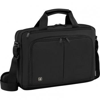 Портфель для ноутбука 14'' wenger, черный, нейлон / пвх, 39 x 80