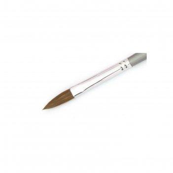 Кисть для акрила sable oval (s008)