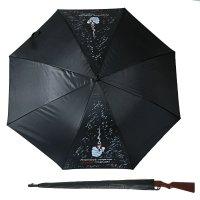 Зонт-трость с ручкой ружье для лучшего стрелка, d = 110 см