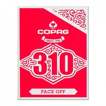 """Карты """"copag 310 face of red"""""""