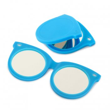 Зеркальце shades синее