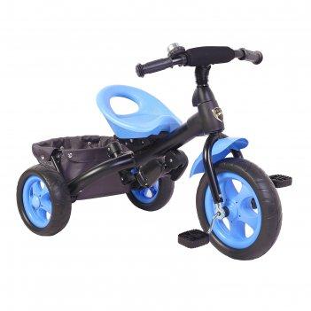 Велосипед трехколесный лучик vivat 4, цвет синий