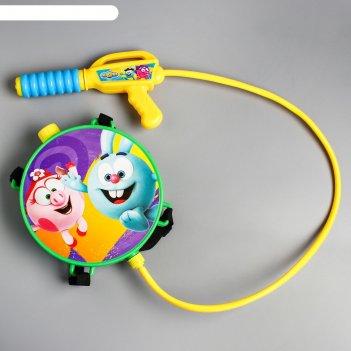 Водный ранец с пистолетом, смешарики
