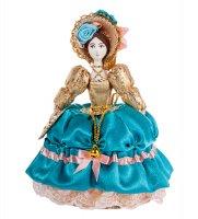 Rk-733 кукла-шкатулка дама с веером