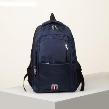 Рюкзак школьн яна, 30*14*44, 2 отд на молниях, 2 н/кармана, 2 бок карм, си